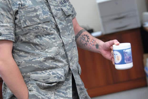 Military Member Tattoo Removal | Newport Tattoo Removal